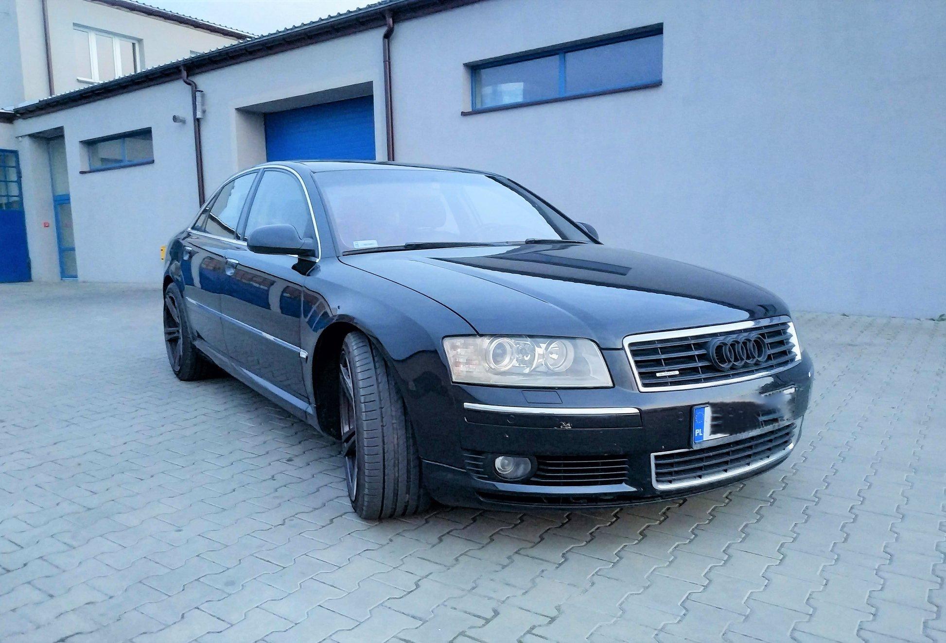 Audi A8 D3 4.0TDI 275KM >> 328KM 751Nm