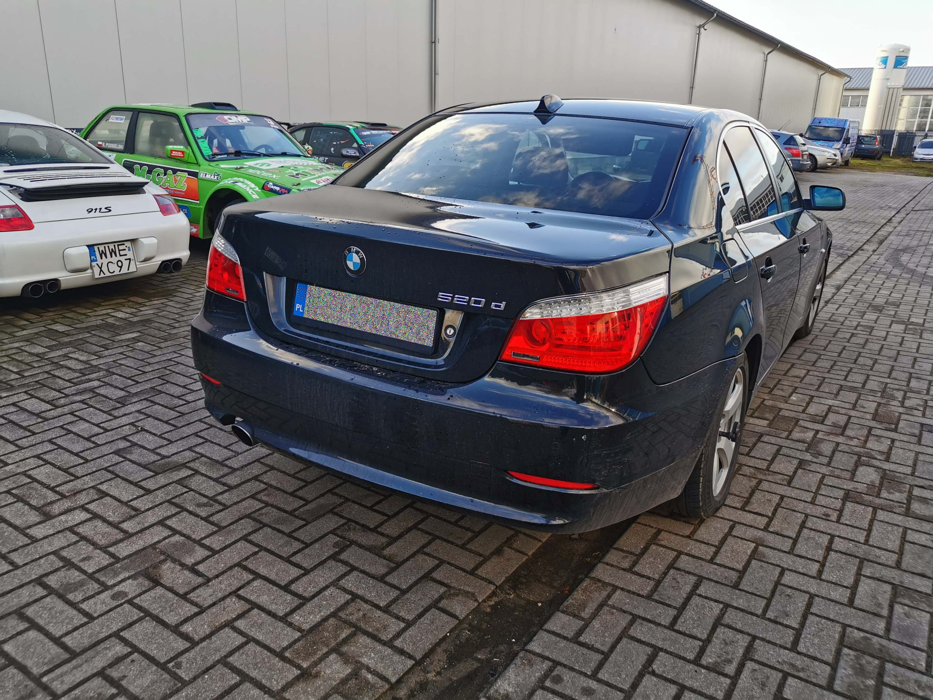 BMW E60 520D 177KM >> 214KM 457Nm