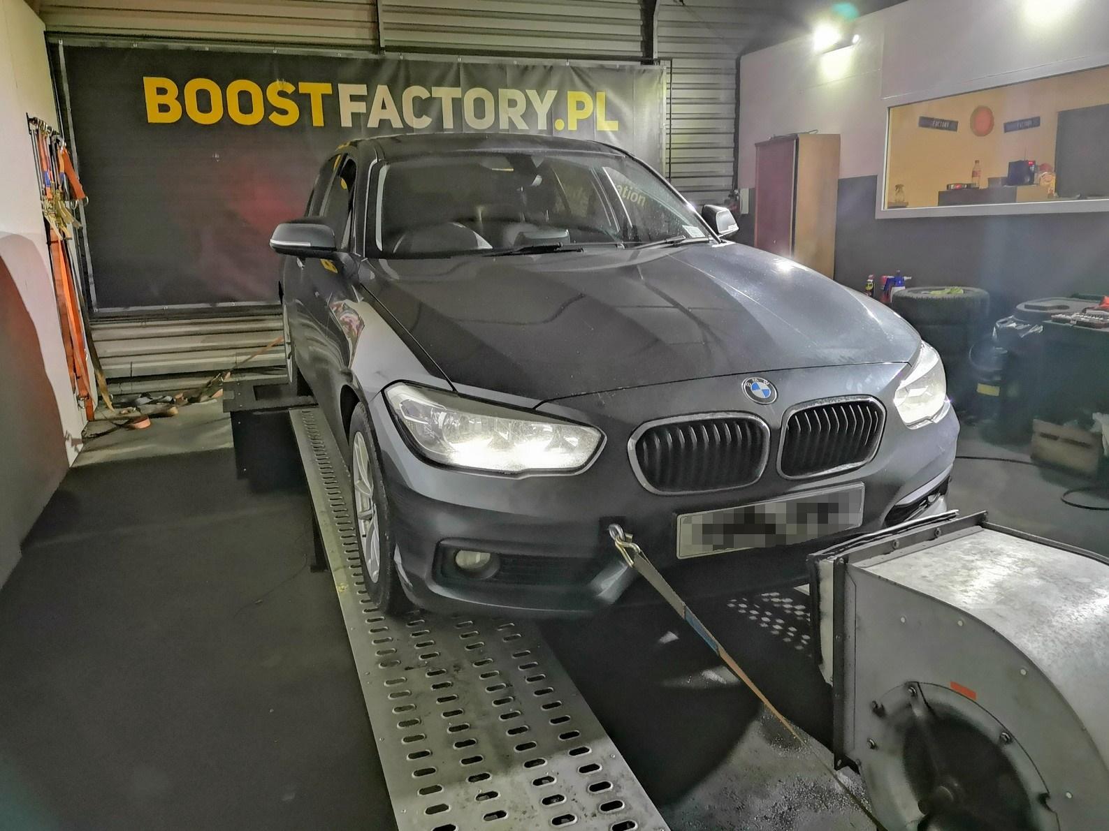 BMW F20 118D B47 150KM >> 184KM 405Nm