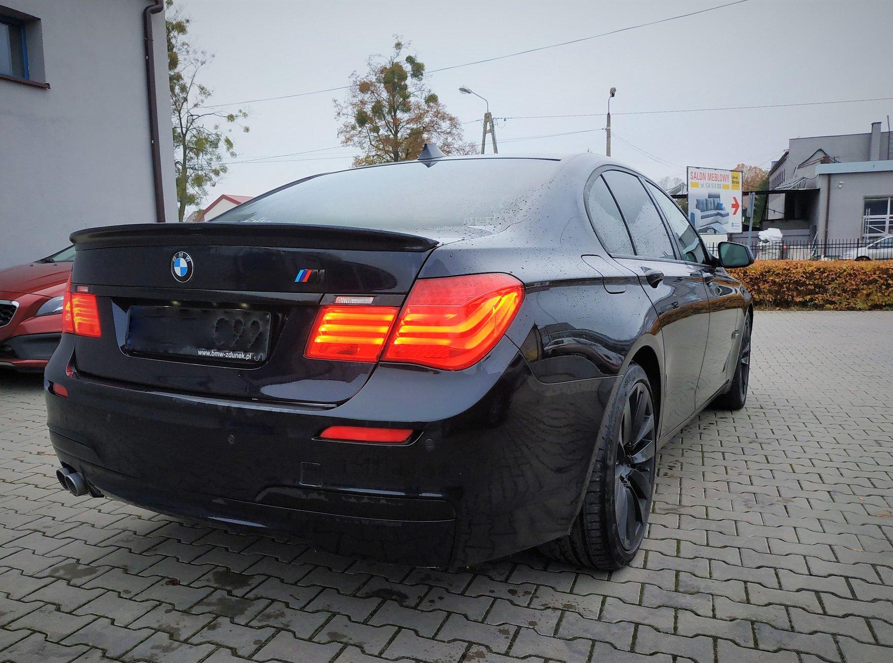 BMW F01 730D N57 245KM >> 313KM 614Nm