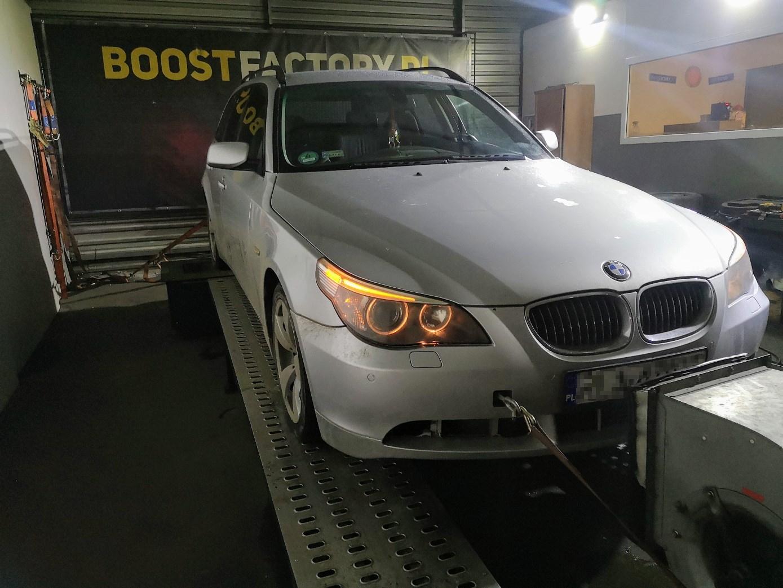 BMW E61 530D 231KM >> 287KM 600Nm