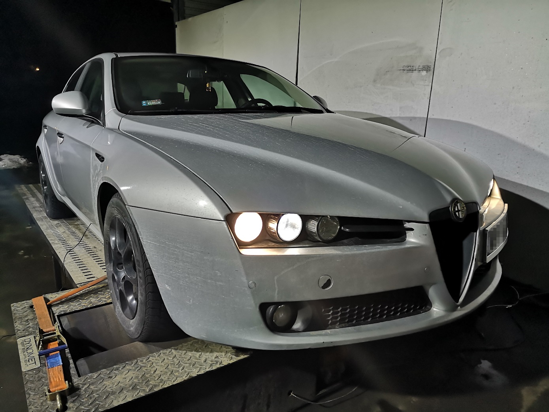 Alfa Romeo 159 1.9 JTDm 8v 120KM >> 160KM 356Nm