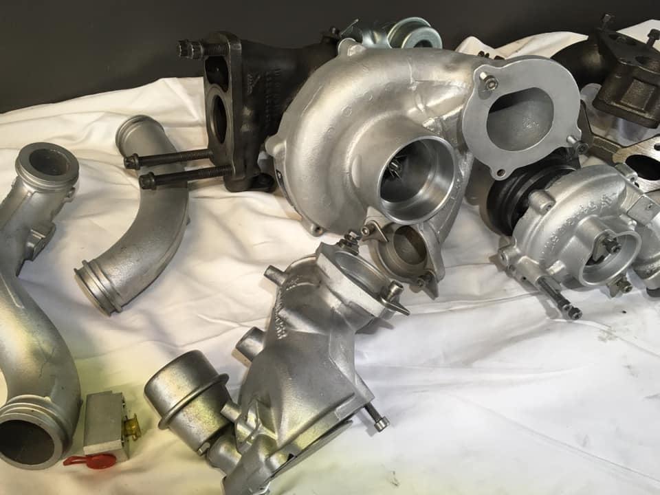 hybrydowe turbosprężarki