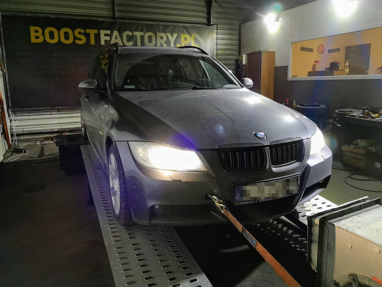BMW E91 330XD 231KM >> 282KM 623Nm
