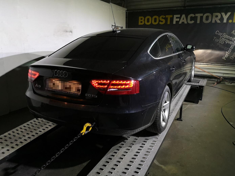 Audi A5 2.0TDI 170KM >> 216KM 472Nm