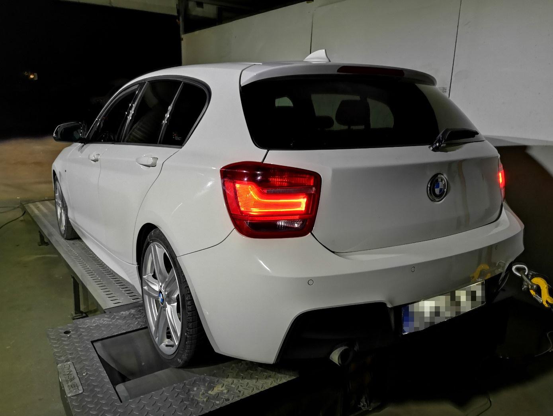 BMW F20 118i N13 170KM >> 220KM 325Nm