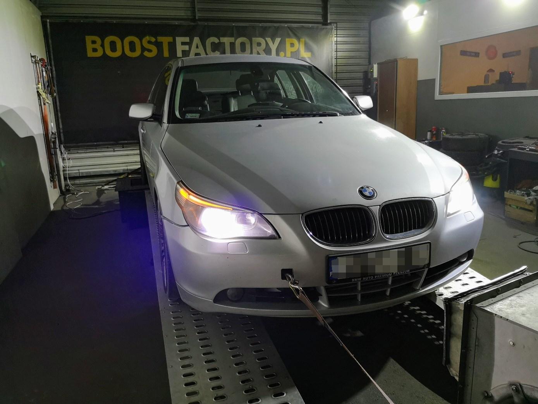 BMW E60 535D 272KM >> 375KM 750Nm
