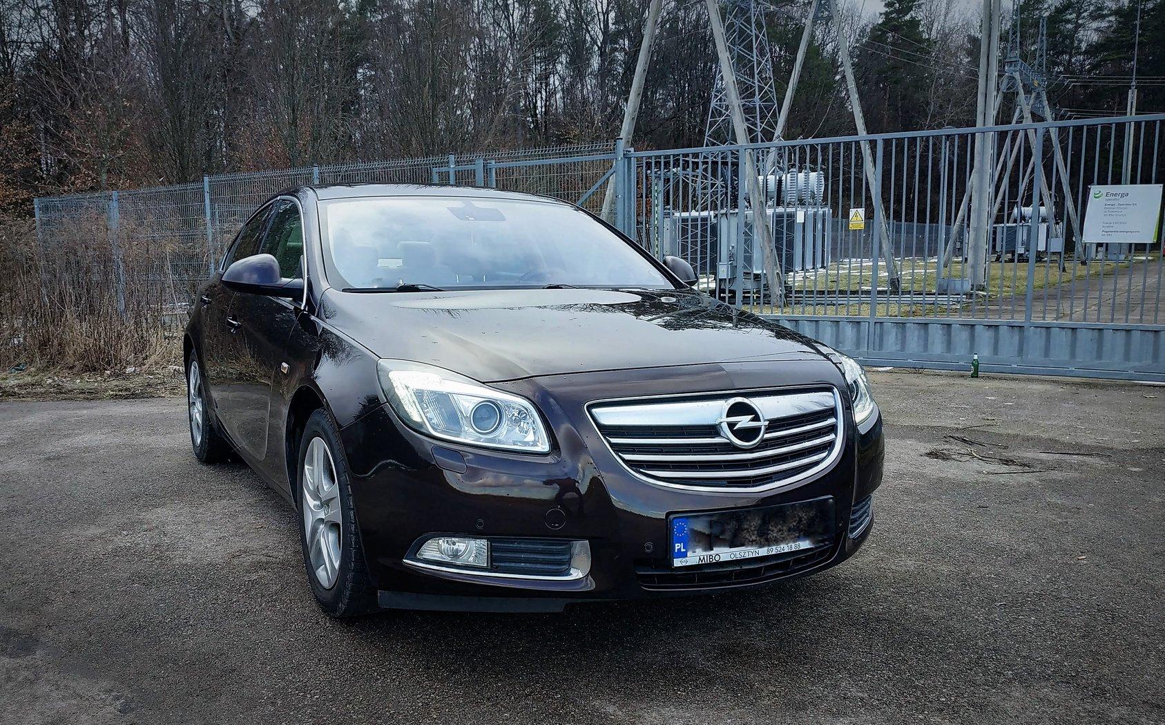 Opel Insignia 1.6T 180KM >> 220KM 307Nm