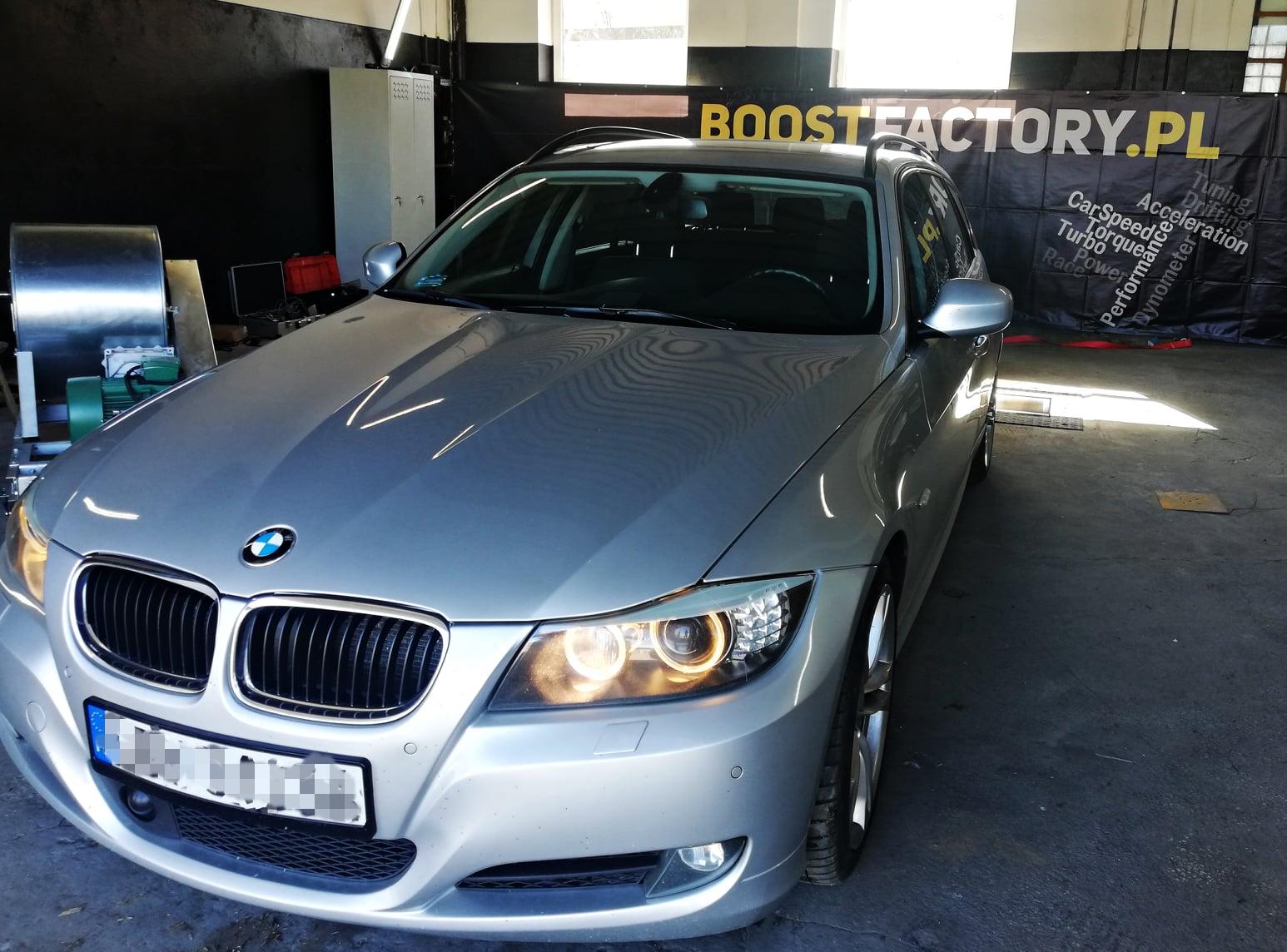 BMW E91 330D 245KM >> 317KM 643Nm