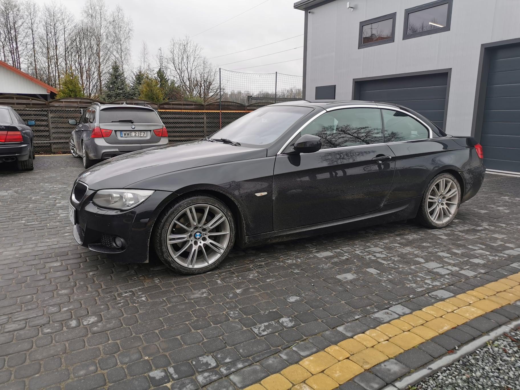 BMW E93 320D 184KM >> 219KM 486Nm