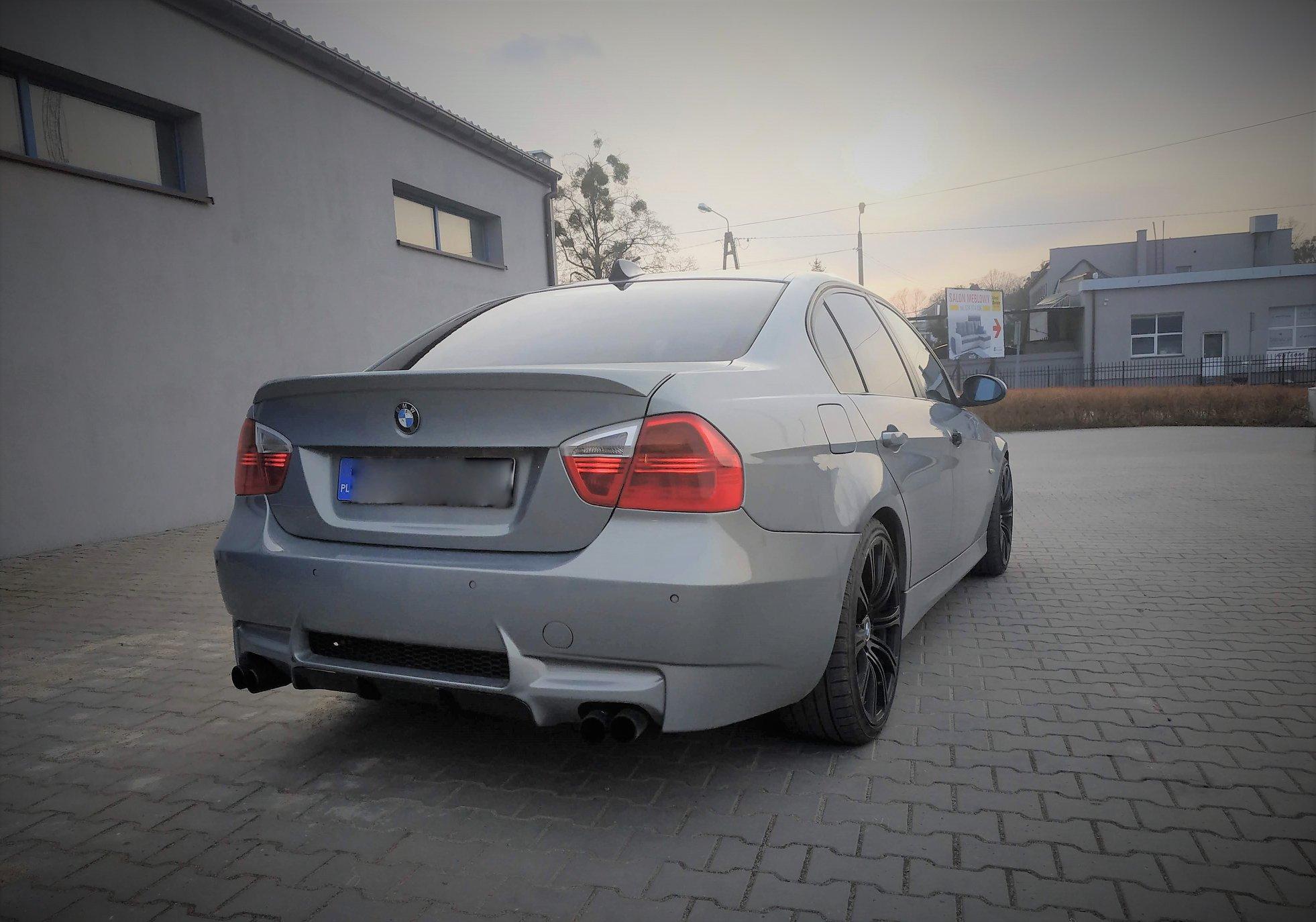 BMW E90 320D 163KM >> 204KM 430Nm