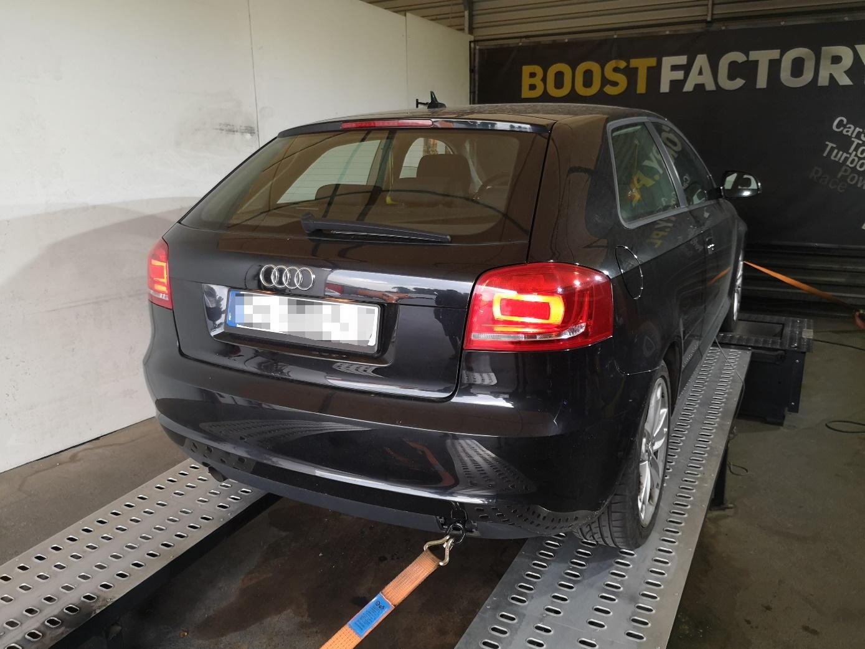 Audi A3 8P 1.6TDI 105KM >> 148KM 287Nm