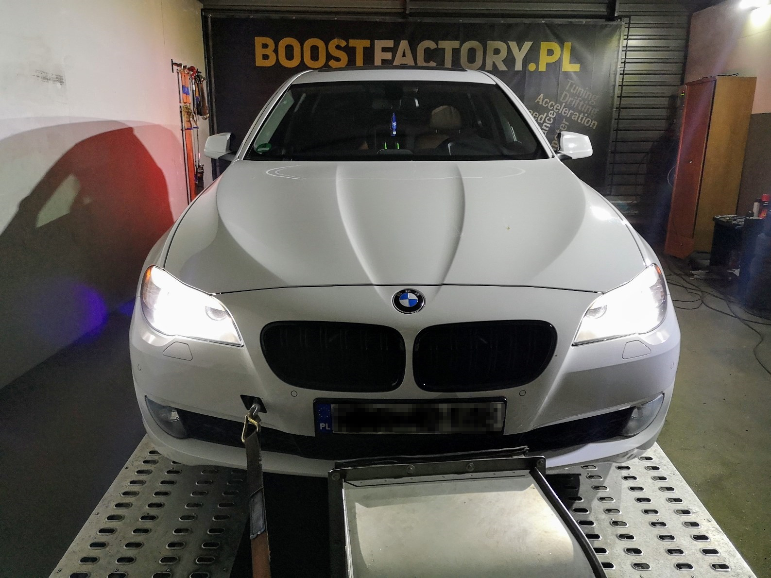 BMW F11 520D 184KM >> 227KM 482Nm