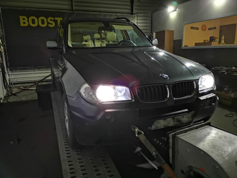 BMW X3 E83 2.0D 150KM >> 210KM 435Nm