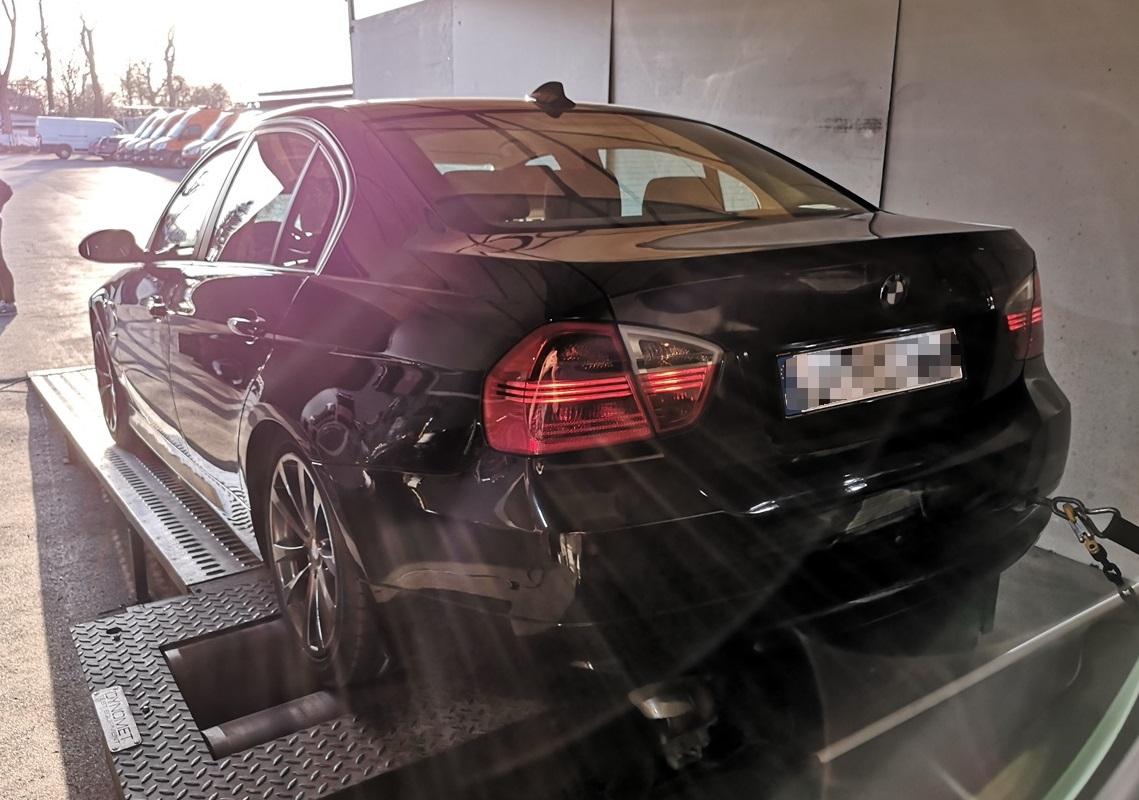 BMW E90 320D 150KM >> 191KM 451Nm