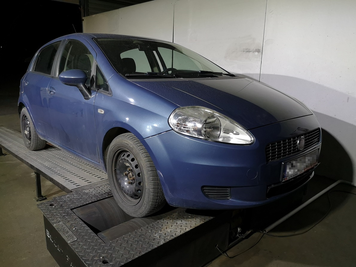 Fiat Grande Punto 1.4TJet 120KM >> 219KM 320Nm