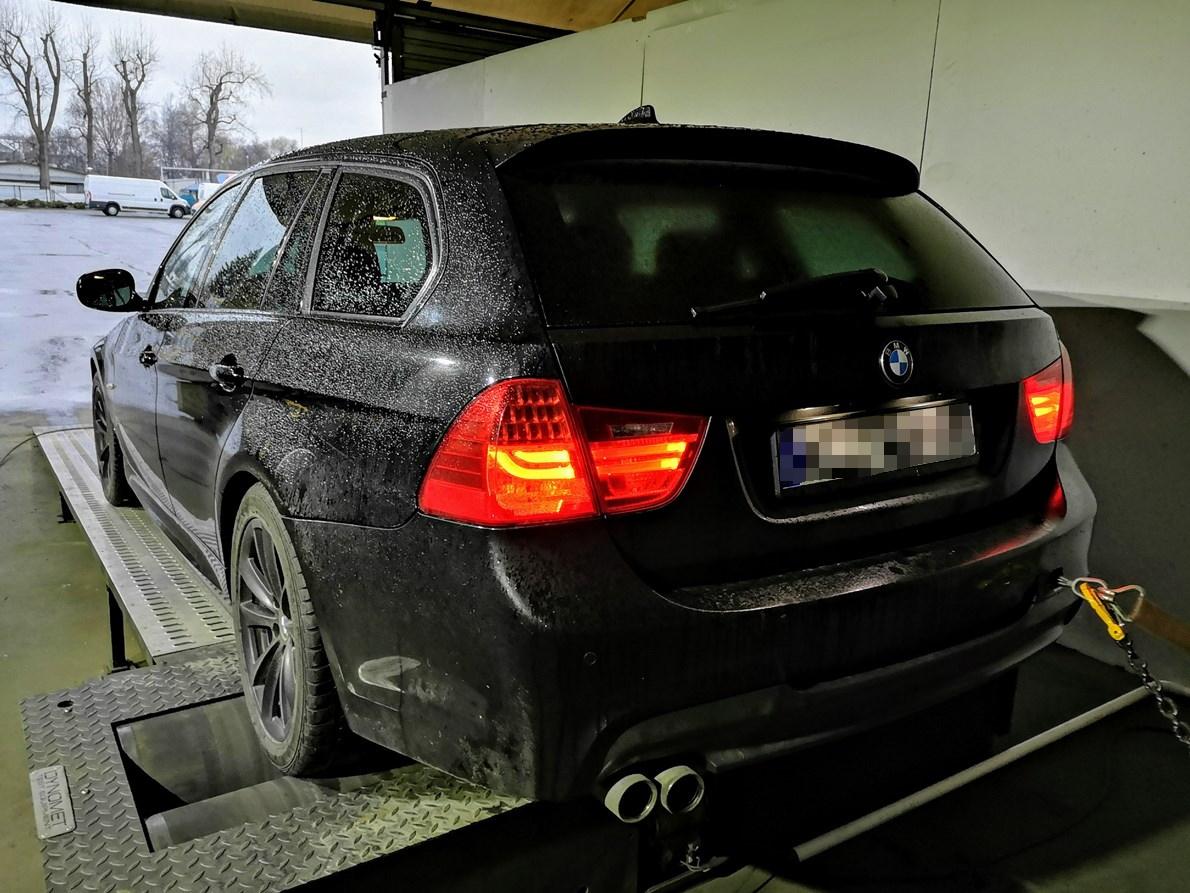 BMW E91 330XD 245KM >> 321KM 671Nm