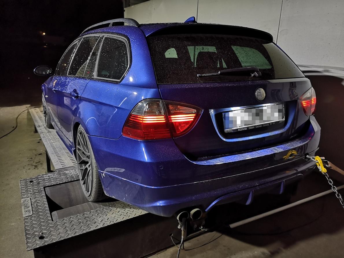 BMW E91 325D 197KM >> 318KM 697Nm