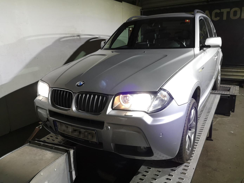 BMW X3 E83 3.0D 231KM >> 308KM 683Nm