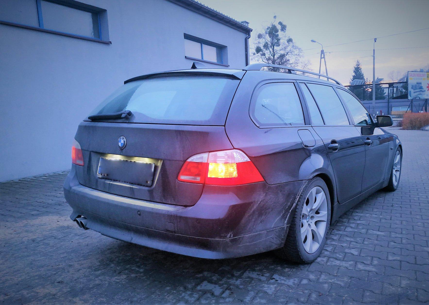BMW E61 535D 272KM >> 330KM 704Nm