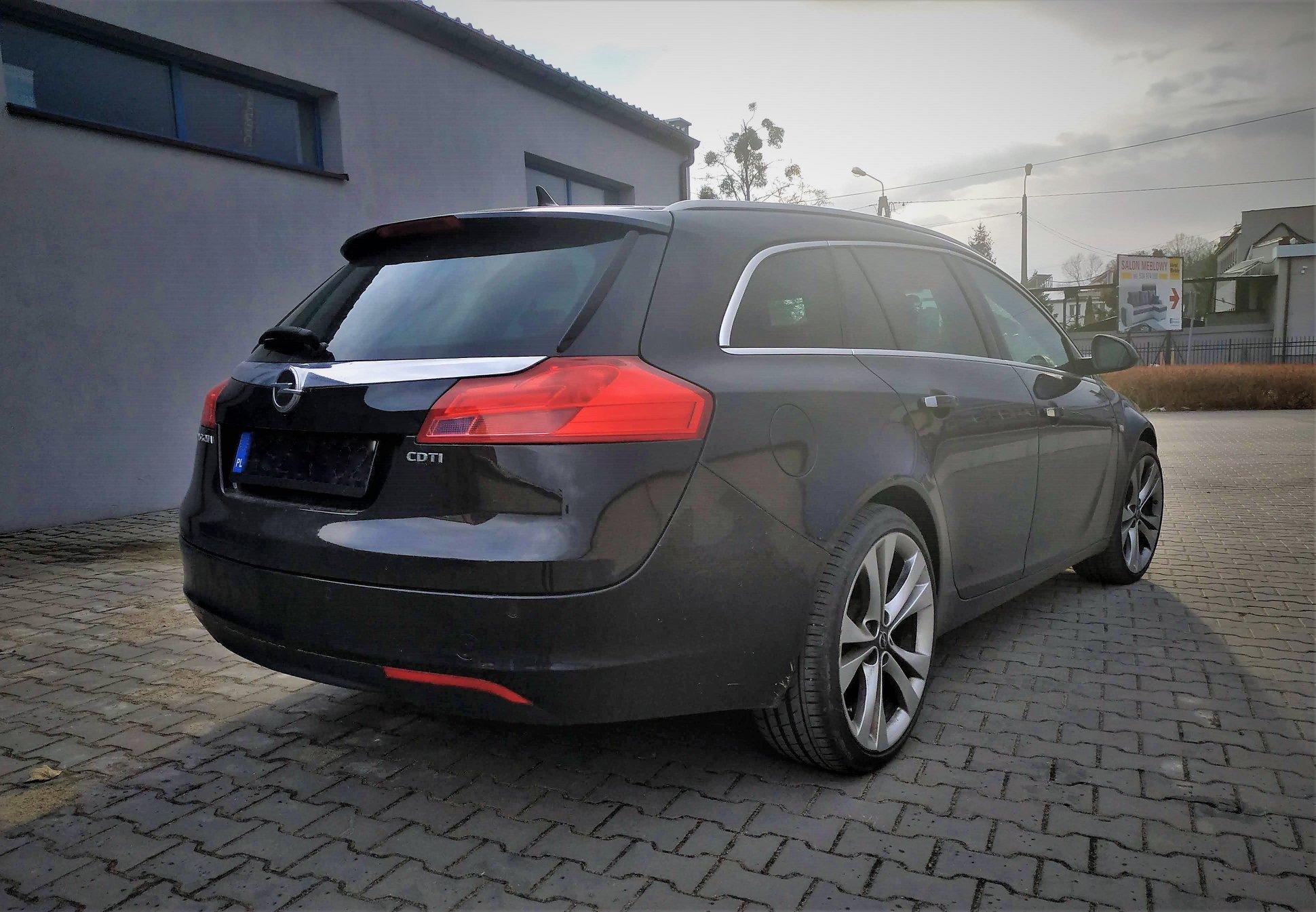 Opel Insignia 2.0CDTI 131KM >> 196KM 427Nm