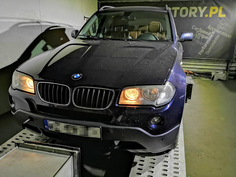 BMW X3 E83 2.0D 150KM >> 211KM 427Nm