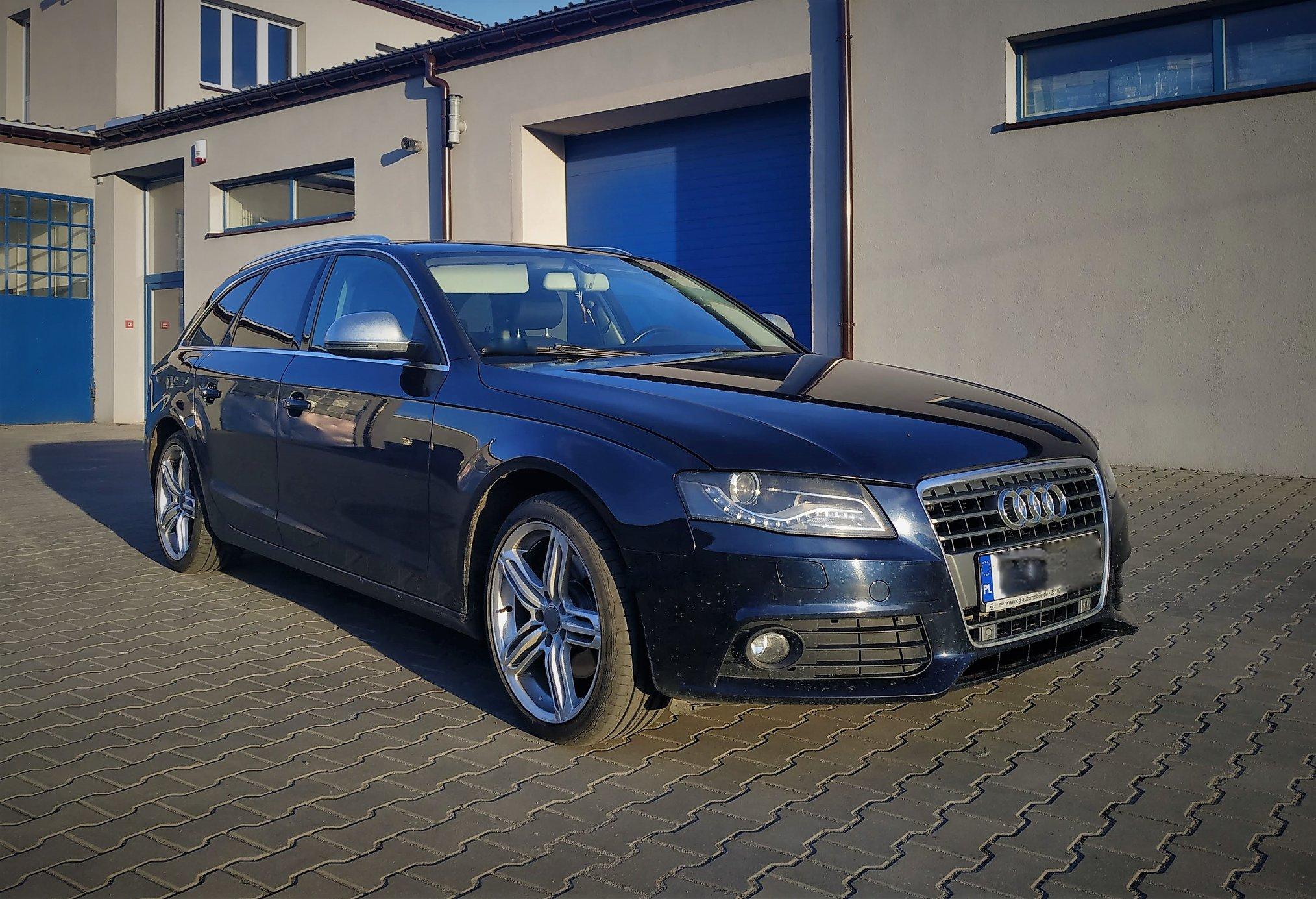 Audi A4 B8 2.0TDI 143KM >> 192KM 407Nm