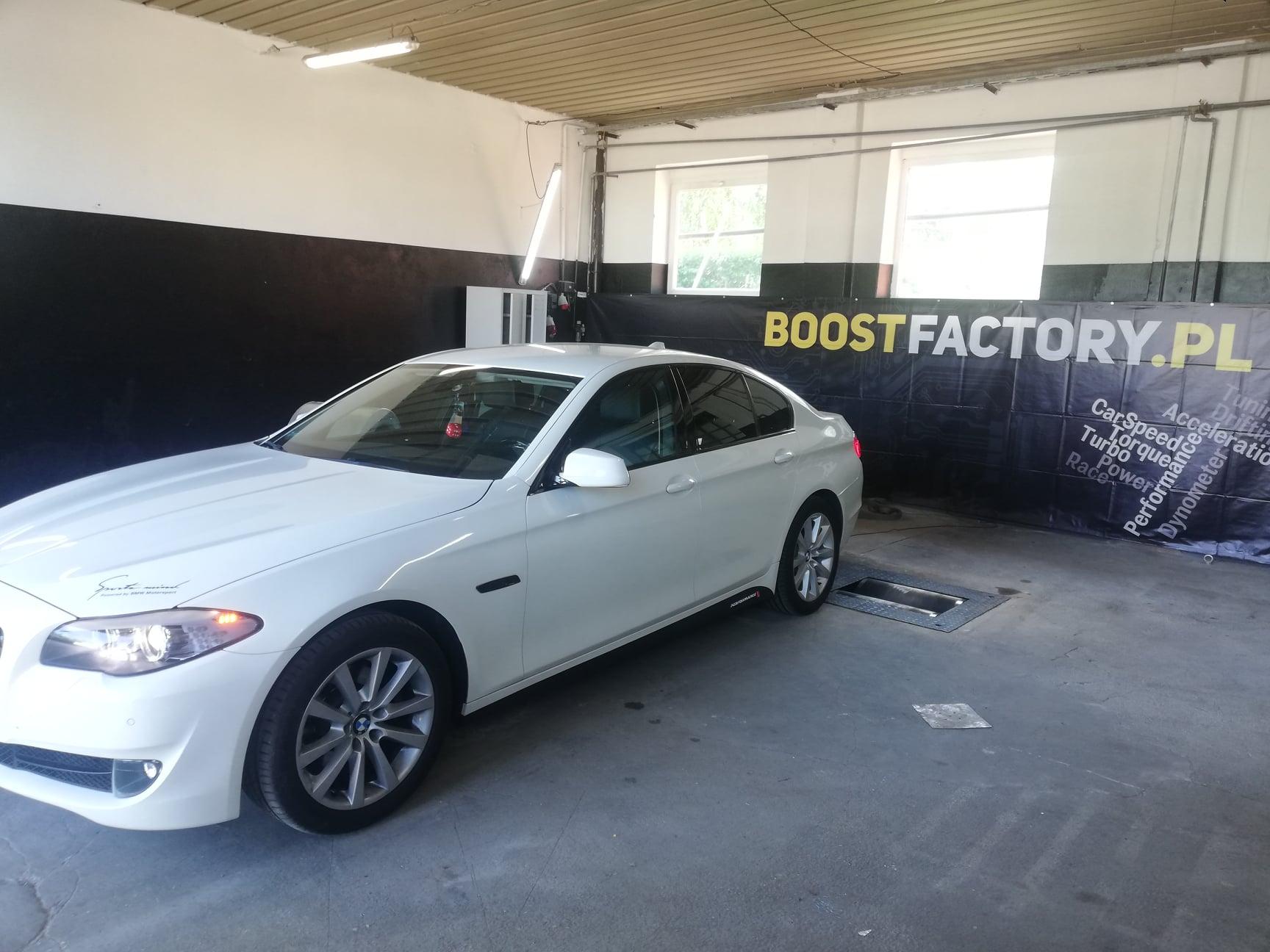 BMW F10 520D 184KM >> 224KM 468Nm