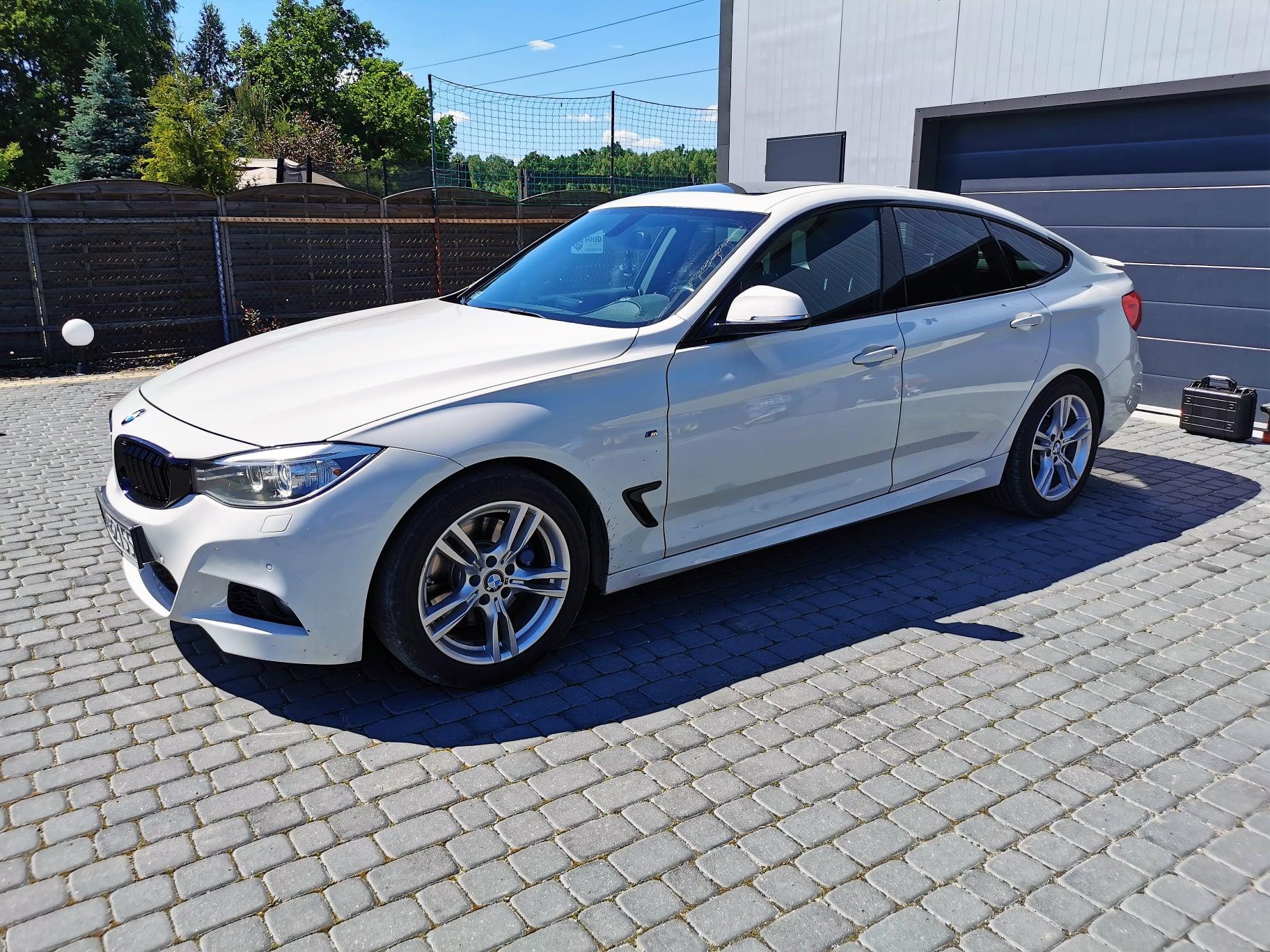 BMW F34 320D 184KM >> 219KM 470Nm