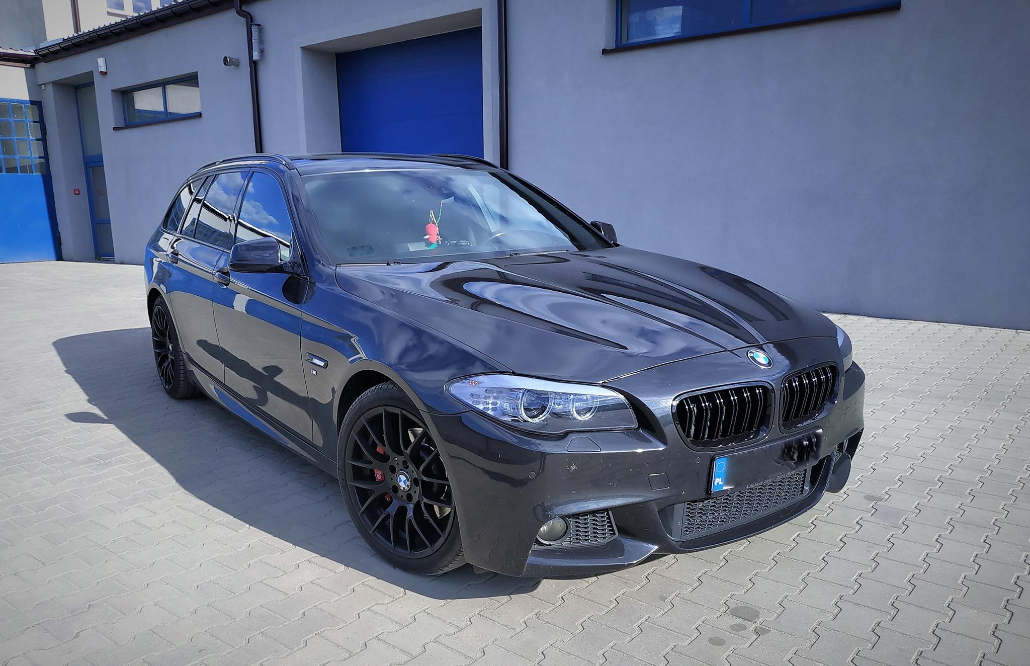 BMW F11 520D 184KM >> 231KM 470Nm