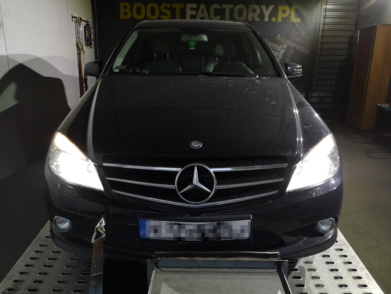 Mercedes W204 C320 CDI 224KM >> 280KM 702Nm
