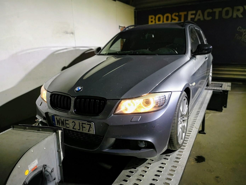 BMW E91 335D 286KM >> 455KM 930Nm