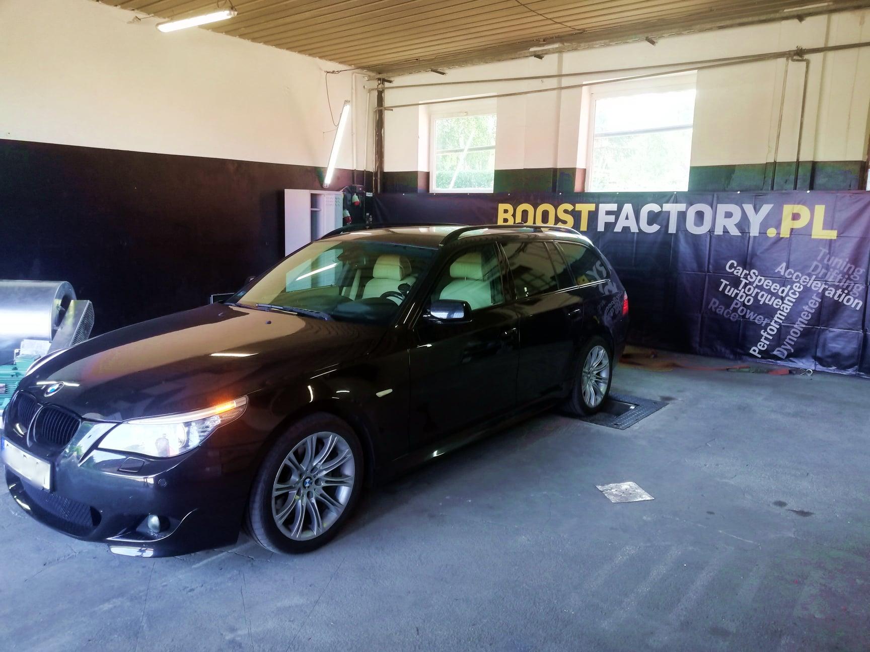 BMW E61 535D 272KM >> 376KM 748Nm