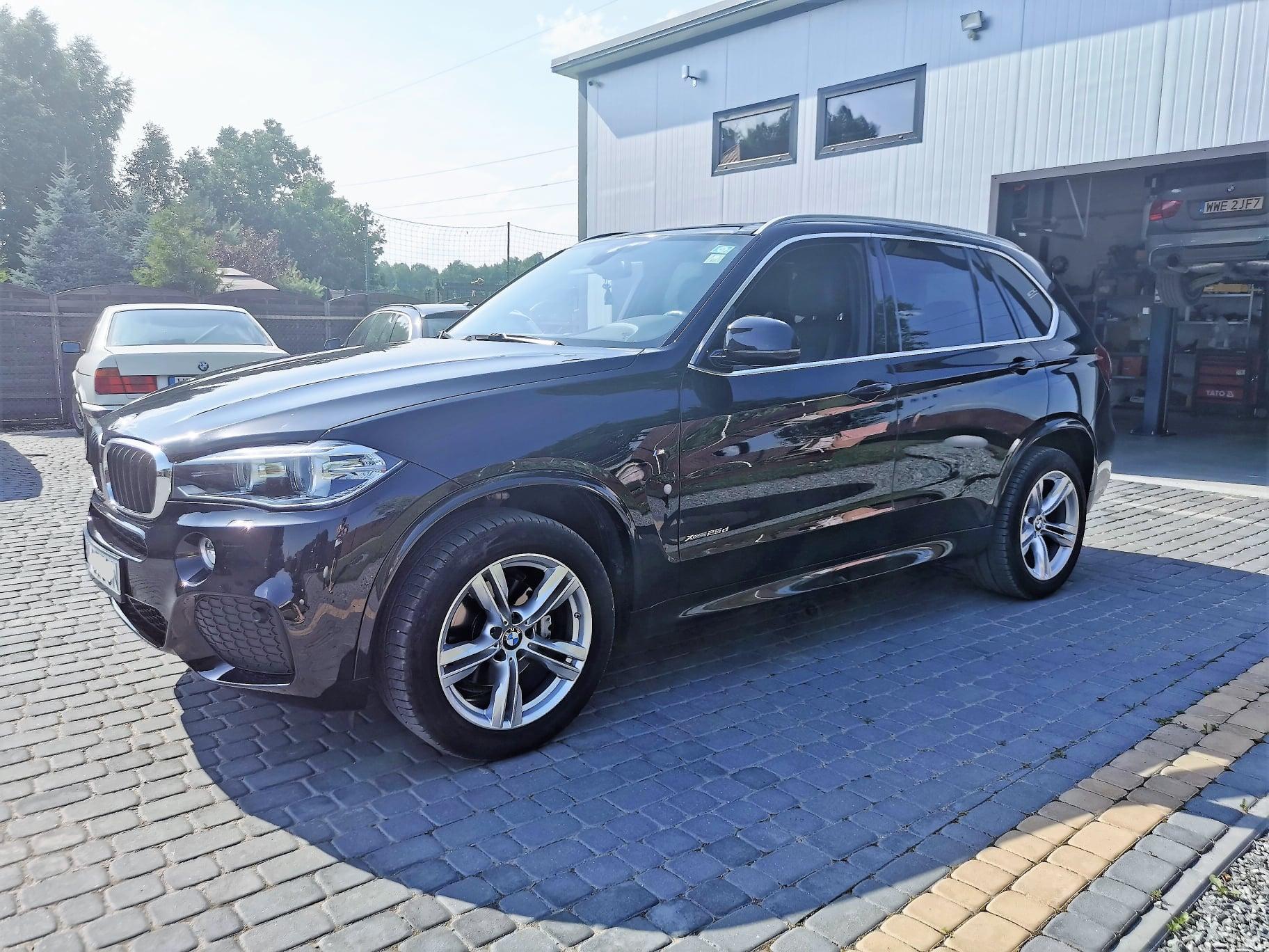 BMW X5 F15 25d 231KM >> 268KM 550Nm