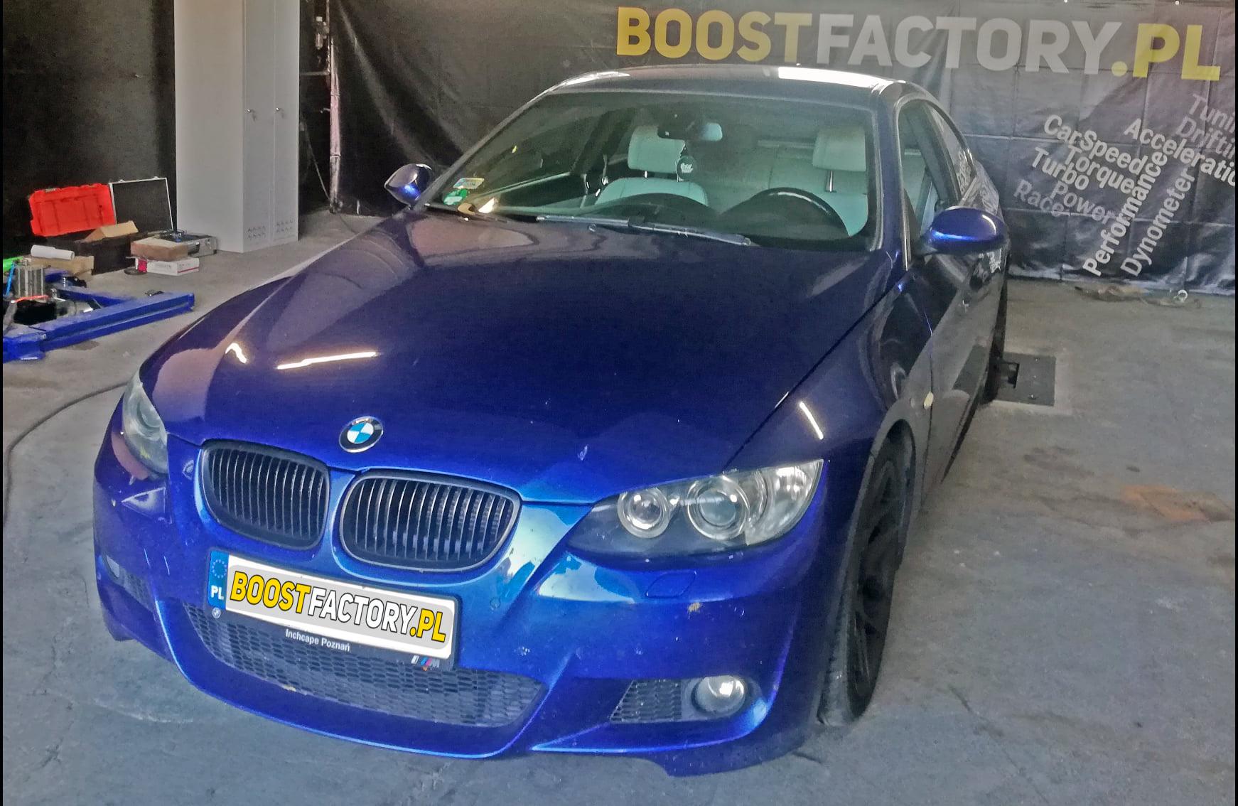 BMW E92 330D 231KM >> 295KM 622Nm