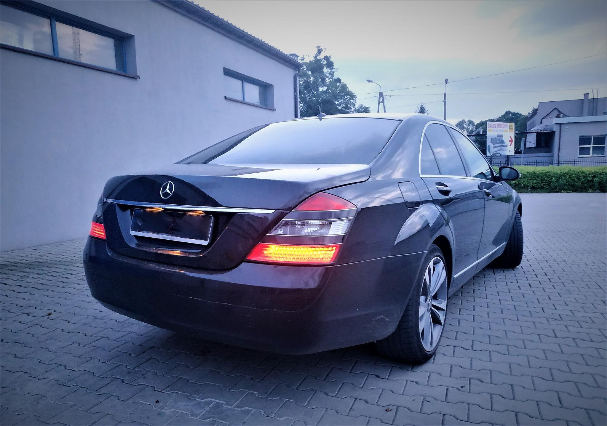 Mercedes S 320CDI W221 235KM >> 266KM 633Nm