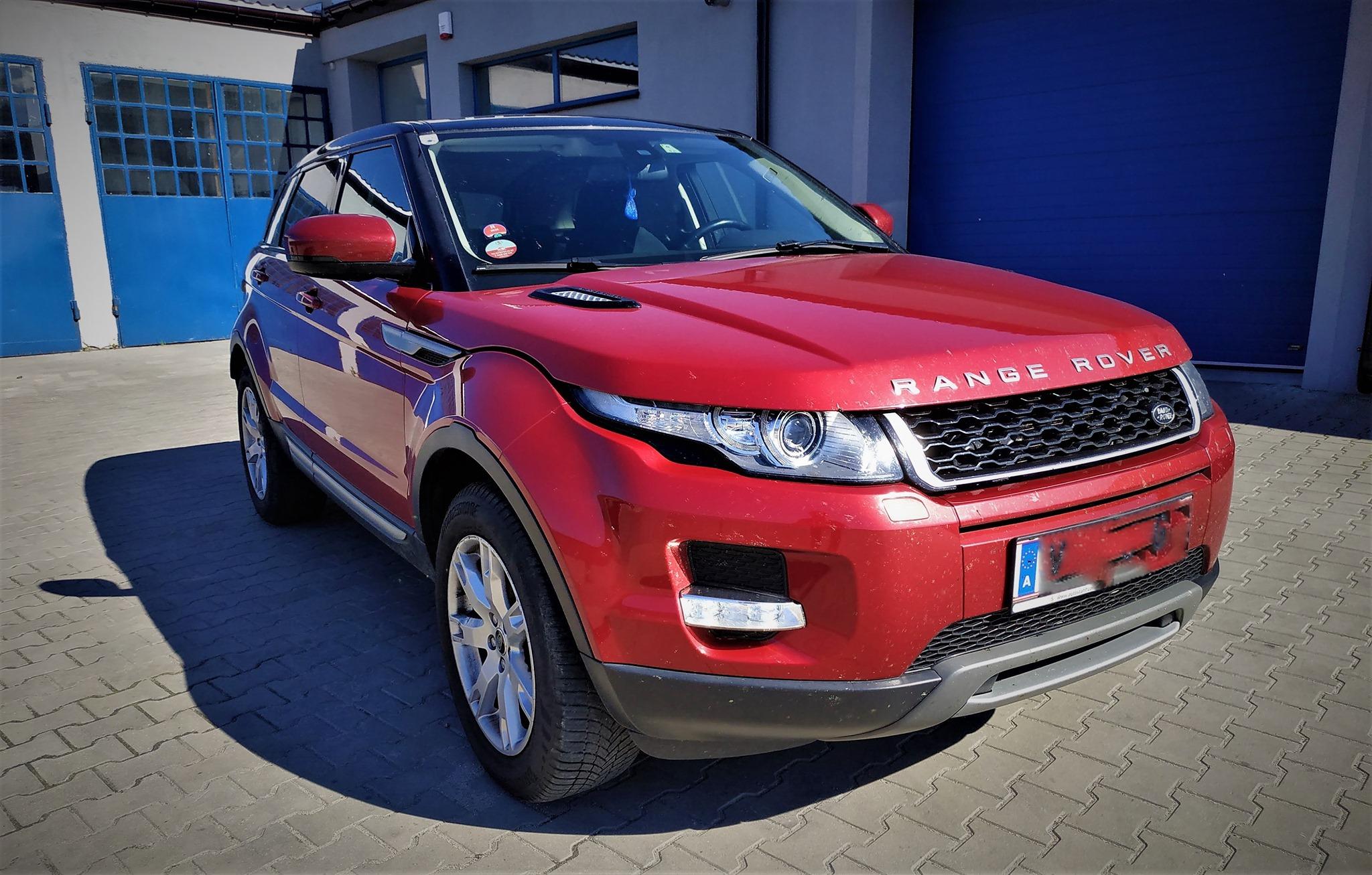 Land Rover Evoque 2.2 ED4 150KM >> 191KM 461Nm