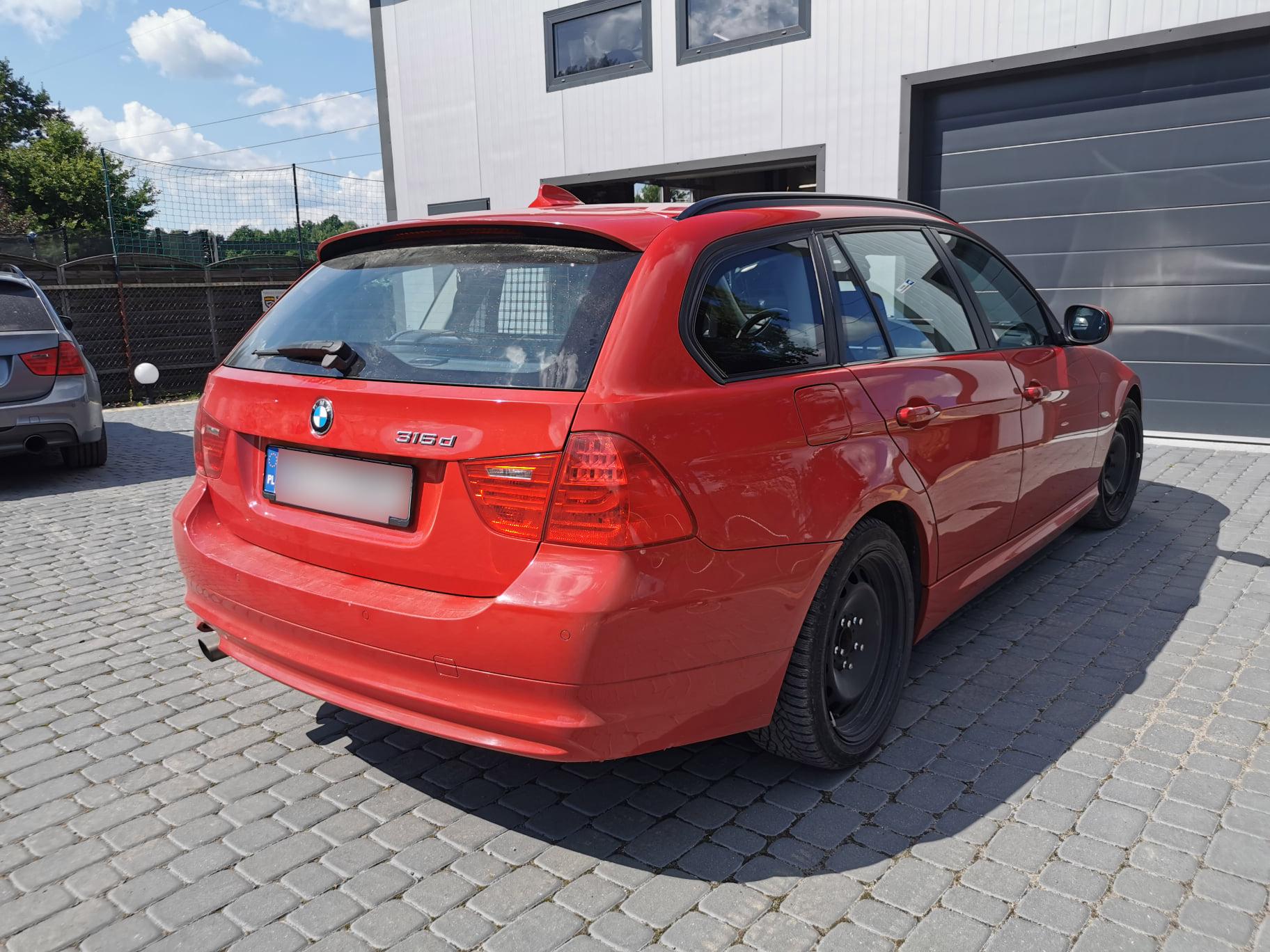 BMW E91 316D 116KM >> 182KM 401Nm