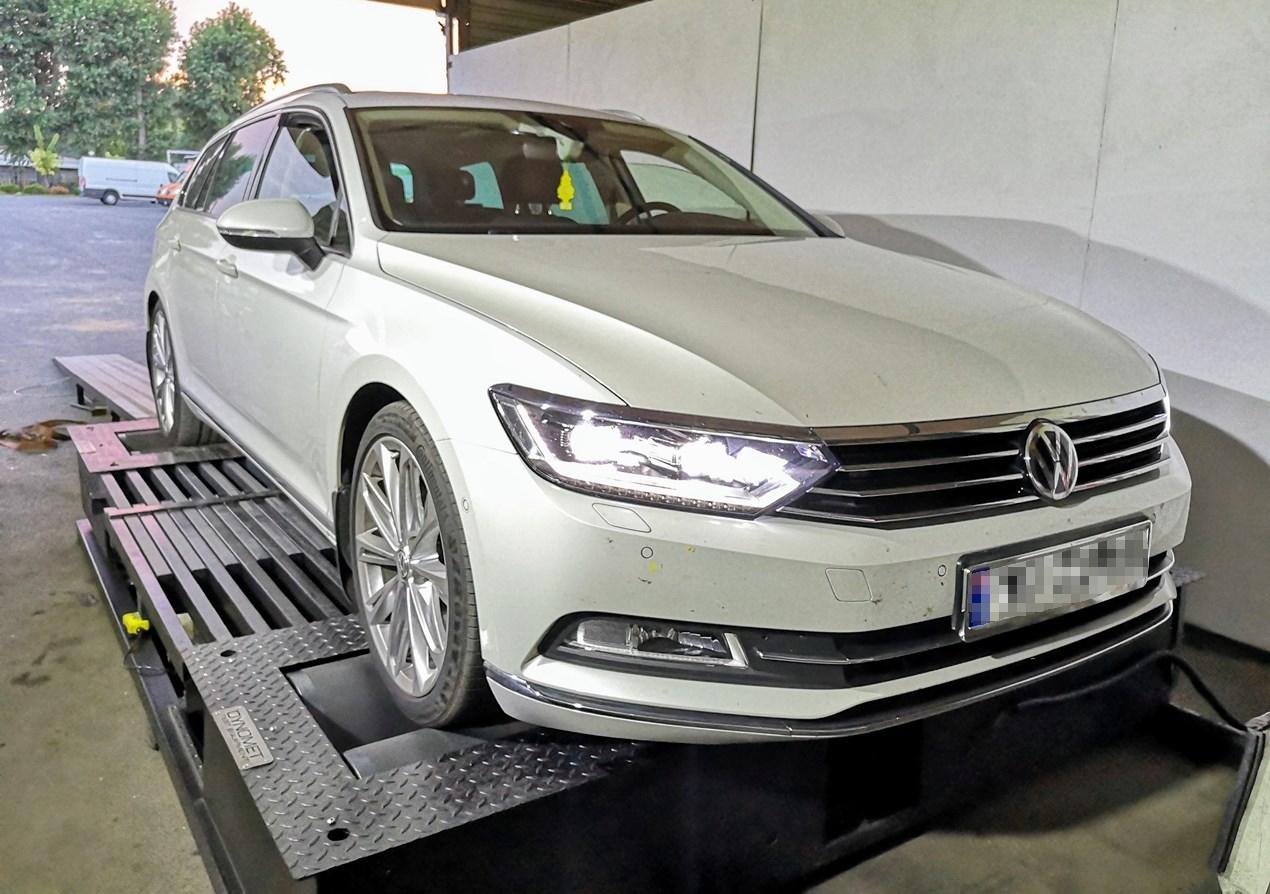 VW Passat B8 2.0TDI 150KM >> 184KM 446Nm