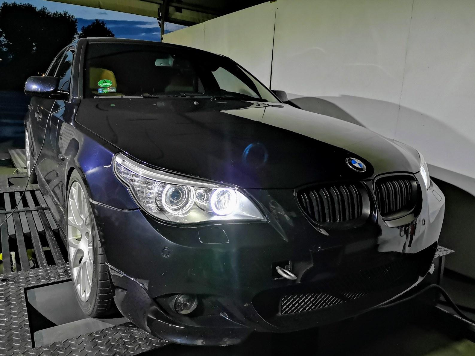 BMW E60 535D 286KM >> 400KM 802Nm
