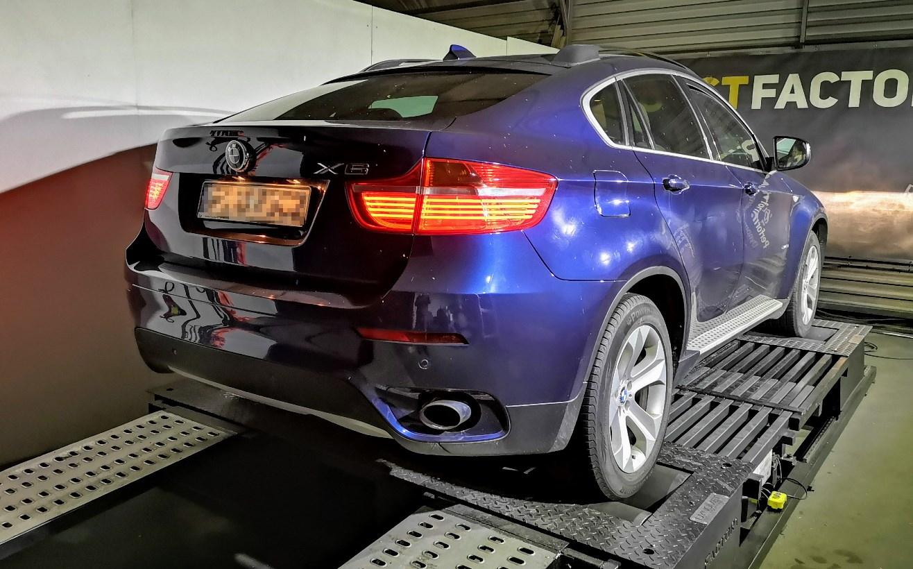 BMW X6 E71 3.0sd 286KM >> 347KM 757Nm