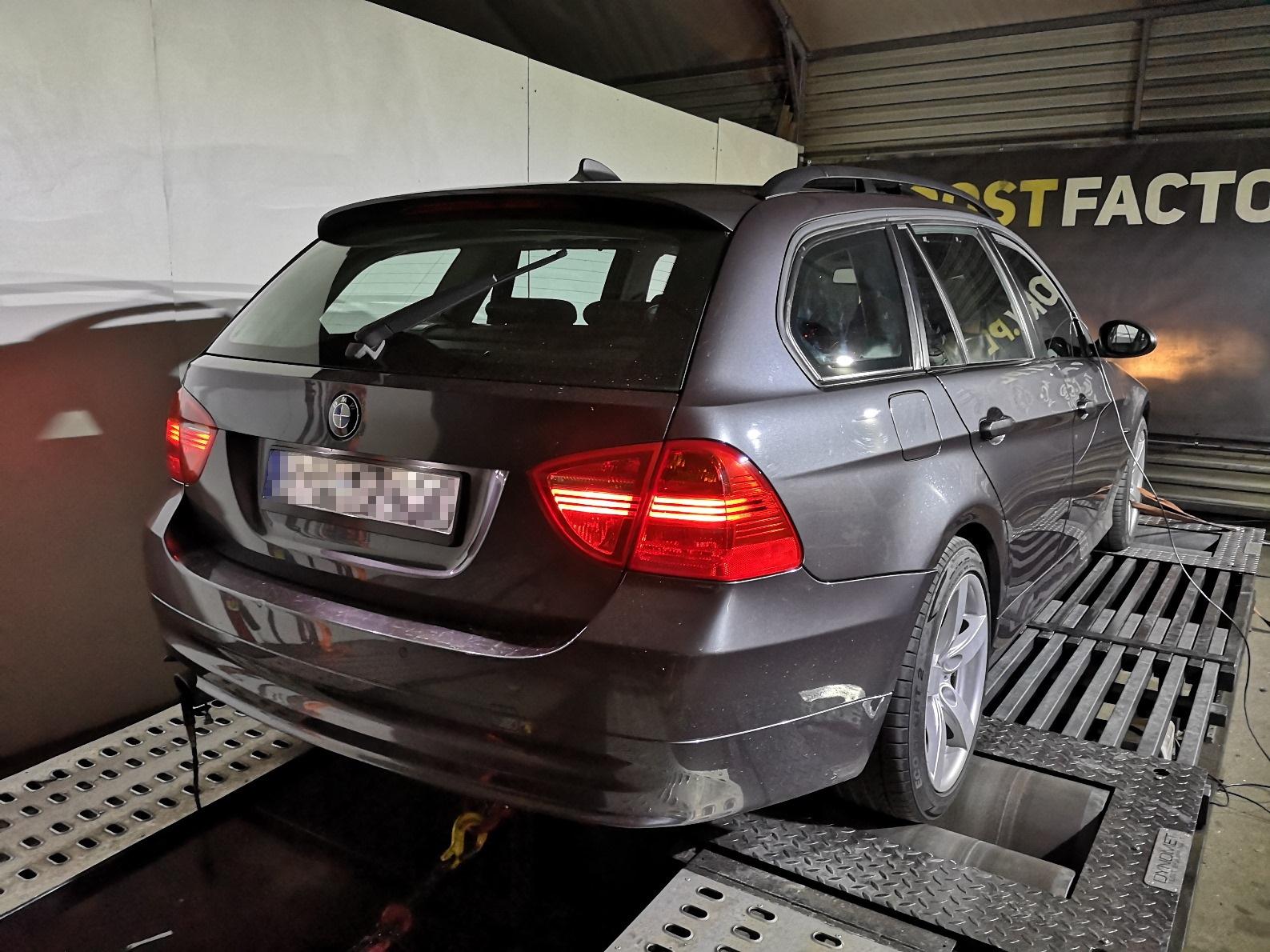 BMW E91 318D 143KM >> 183KM 418Nm