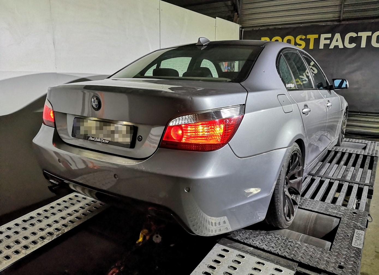 BMW E60 530D 231KM >> 360KM 772Nm