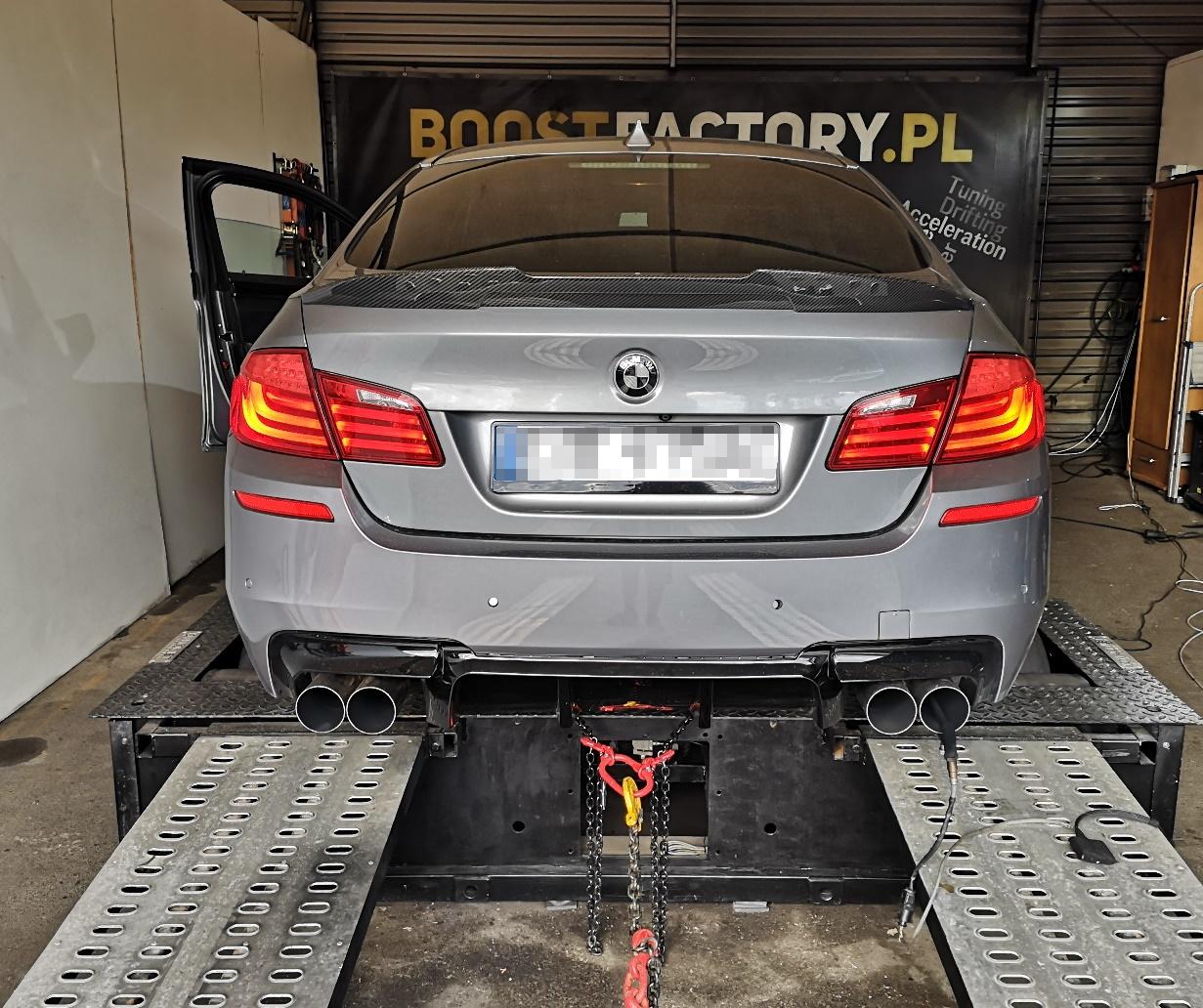BMW F10 530D 245KM >> 363KM 729Nm