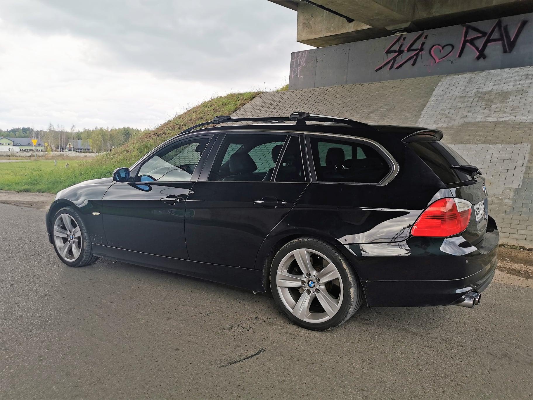 BMW E91 330D 231KM >> 318KM 700Nm