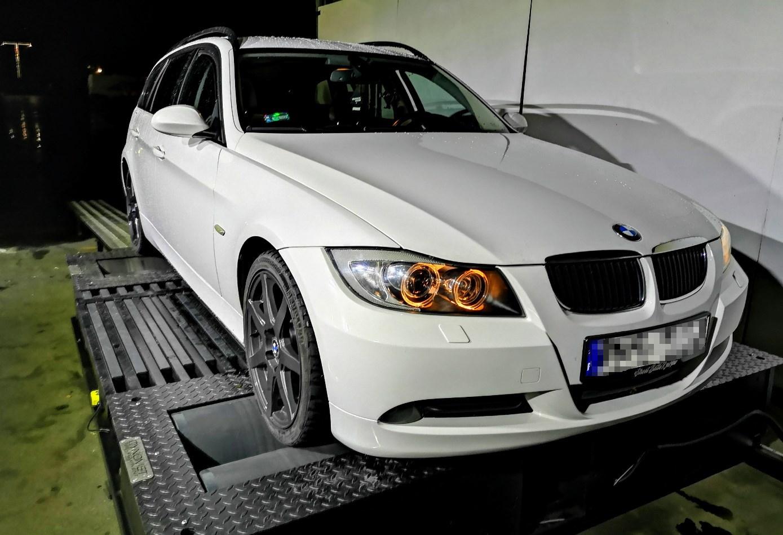 BMW E91 320D 177KM >> 227KM 486Nm