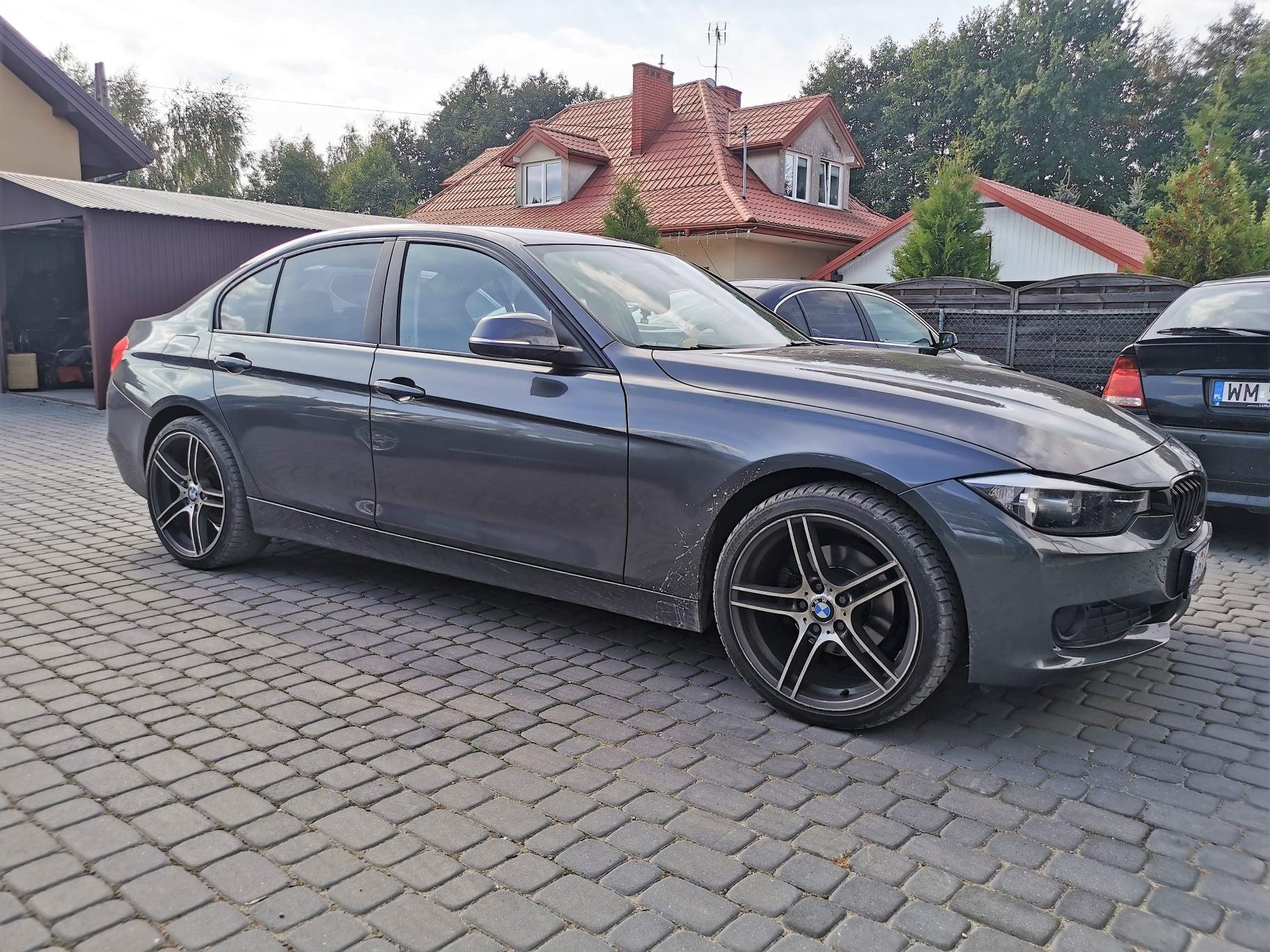 BMW F30 320D 184KM >> 215KM 470Nm