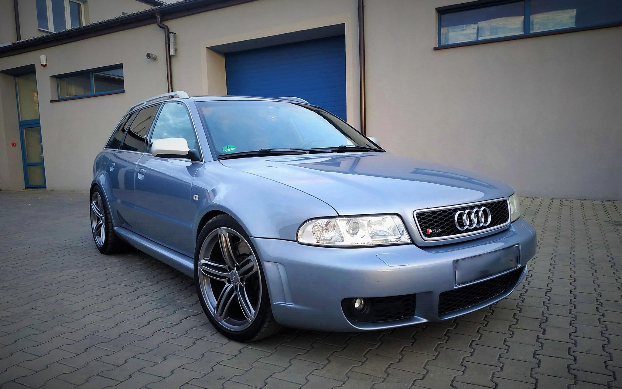 Audi RS4 B5 2.7BiTurbo 380KM >> 431KM 619Nm