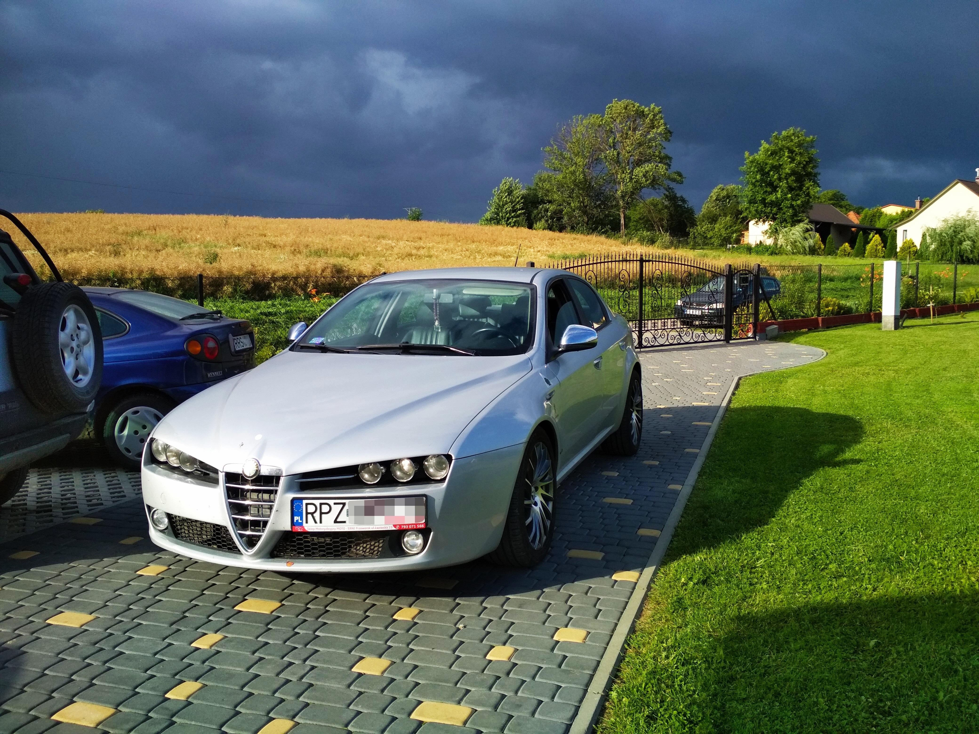 Alfa Romeo 159 1.9JTDm 120KM >> 170KM 381Nm