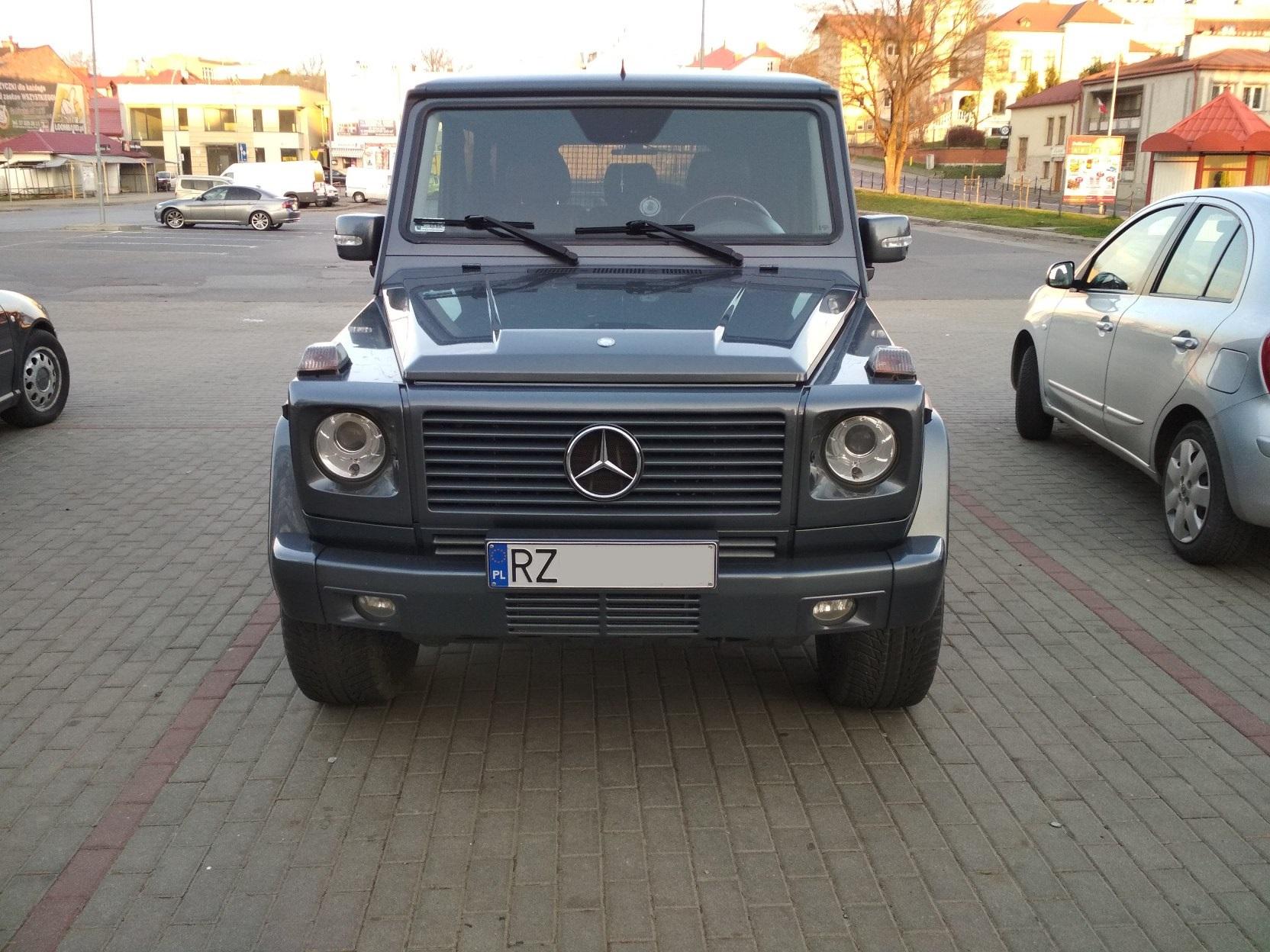 Mercedes G-Klasa 320CDI 211KM >> 263KM 606Nm